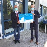 Die AGO GmbH Energie + Anlagen aus Kulmbach lässt ihre sehr gute Bonität zertifizieren.