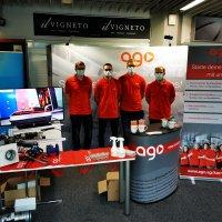 AGO GmbH zum ersten Mal auf der Ausbildungsmesse in Bayreuth.